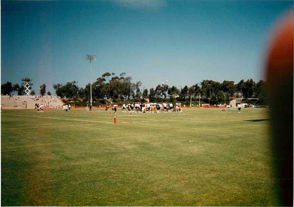 視察 アメリカ① 1996 UCLAその他、NFL  0034