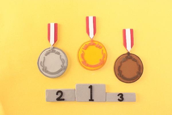 表彰台 オリンピック