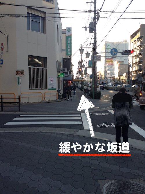 南港通り 坂道201603