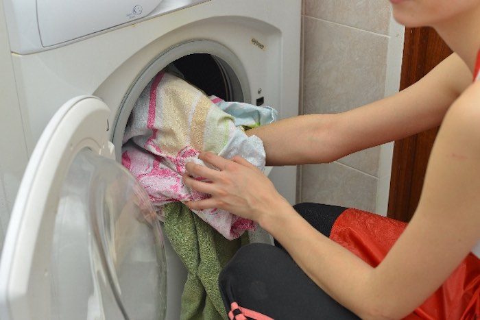 洗濯 家事 女性