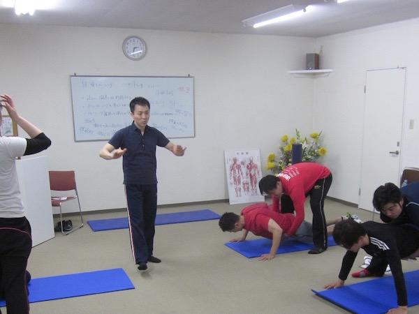 自重トレーニング パーソナルセミナー042409