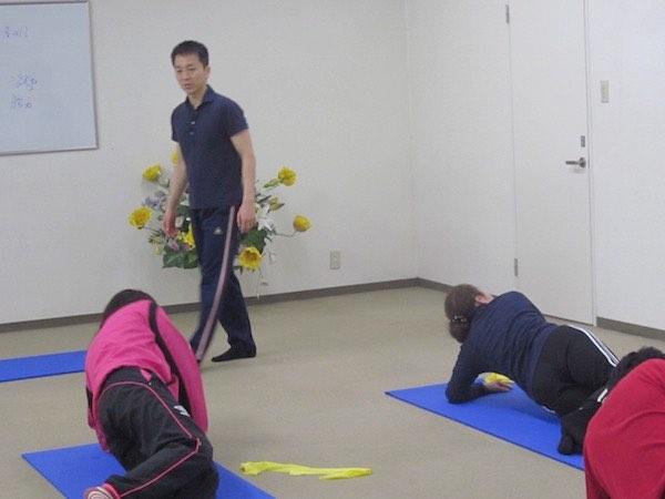 体幹トレーニング20160424 1