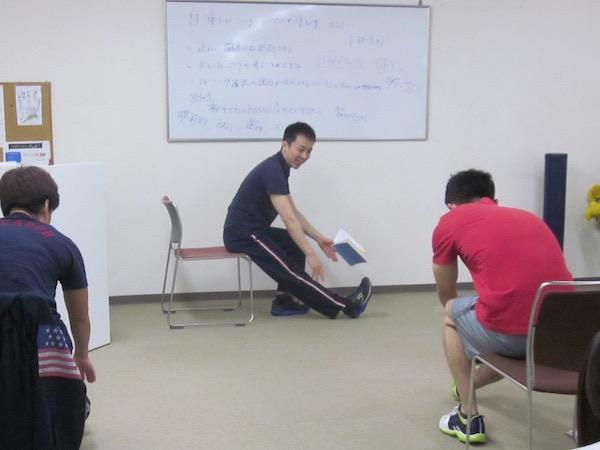 自重トレーニング パーソナルセミナー042402